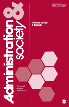 Cover of Administration & Society