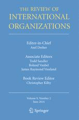 Cover of The Review of International Organizations