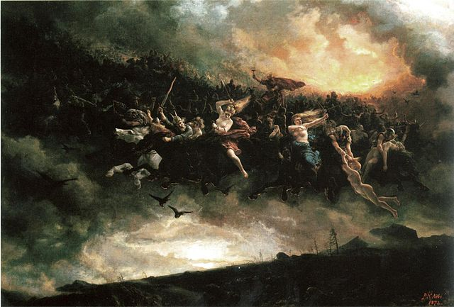 The Wild Hunt (Asgardsreien) by Nicolai Arbo