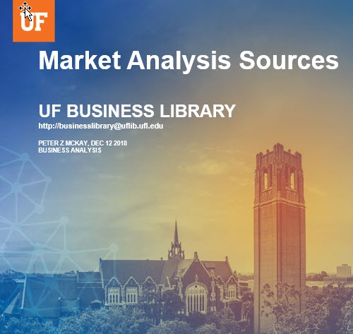 Market Analysis Sources