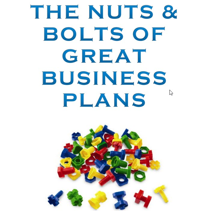 Nuts & Bolts Business Plan