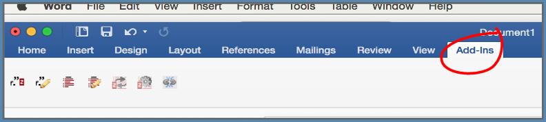 zotero word for mac 2016