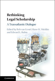 rethinking legal scholarship cover