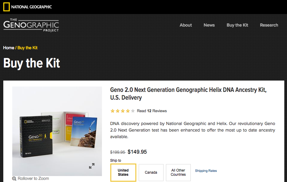 The National Genographic Project