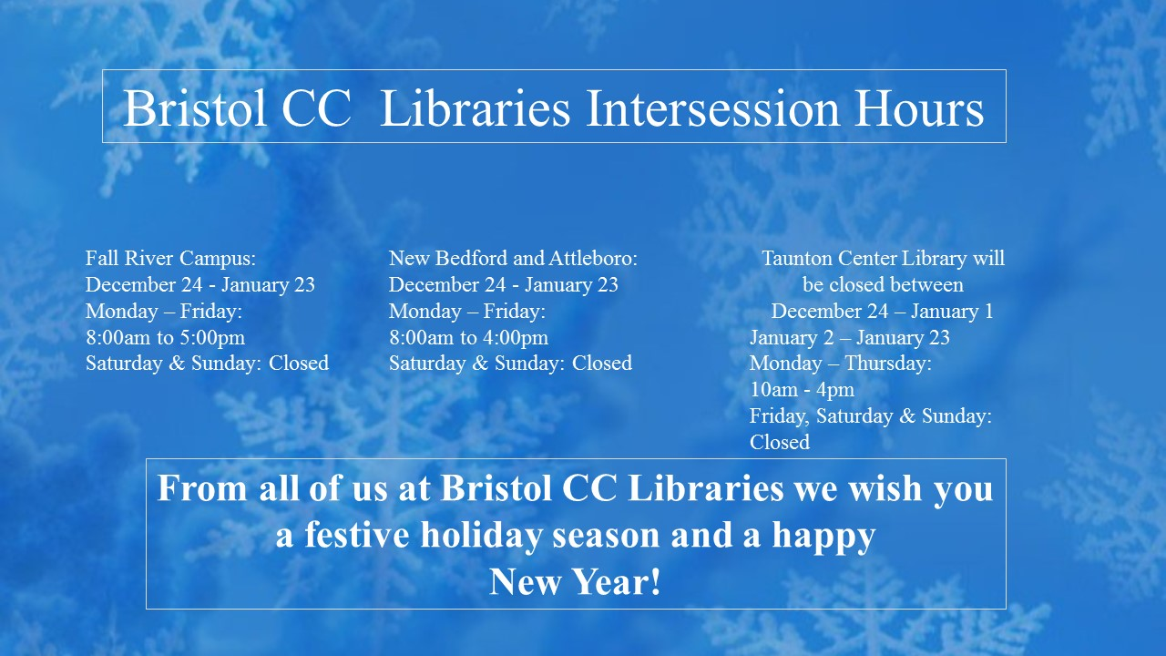Winter intersession hours