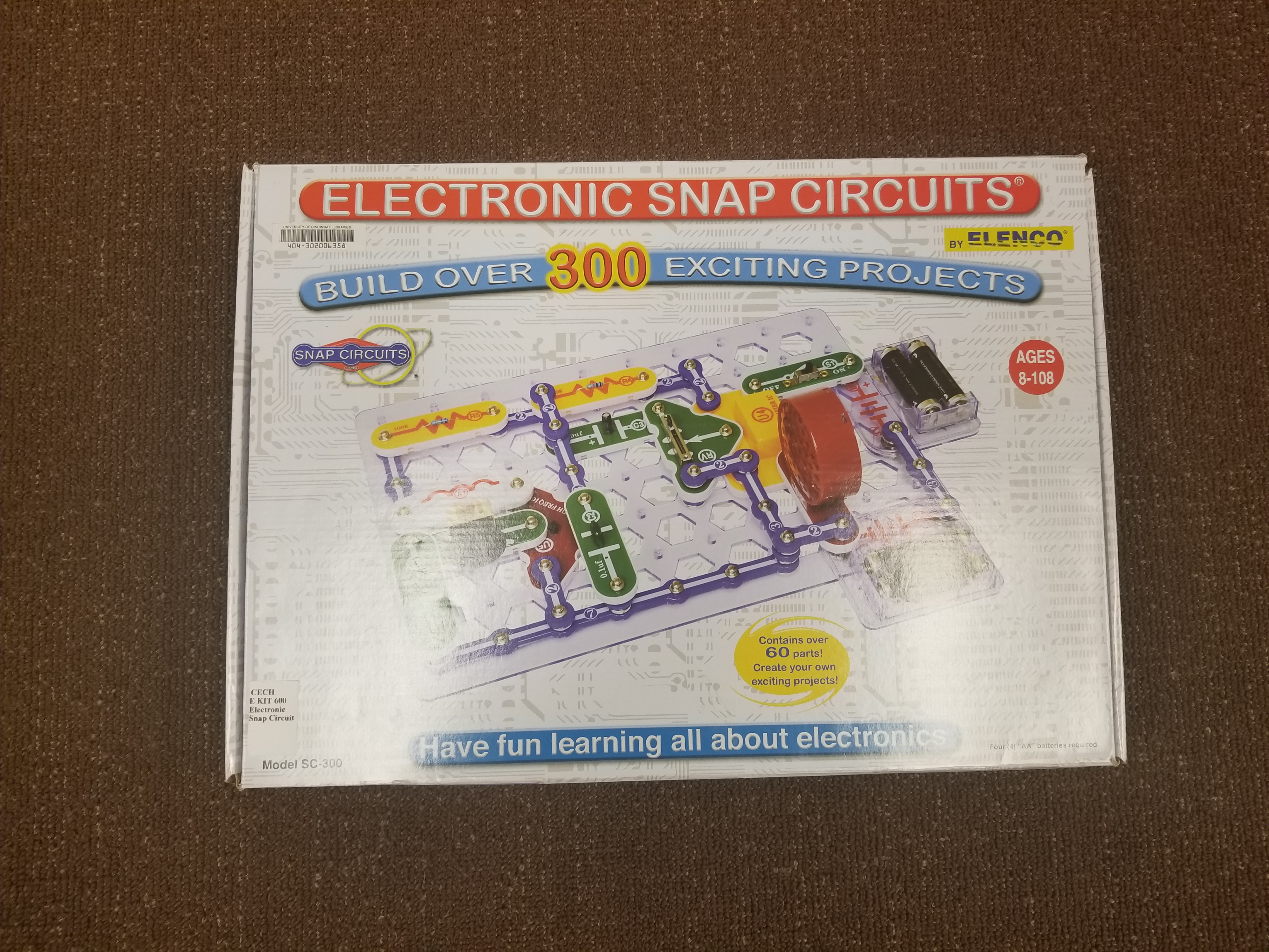 Picture of Electronic Snap Circuits
