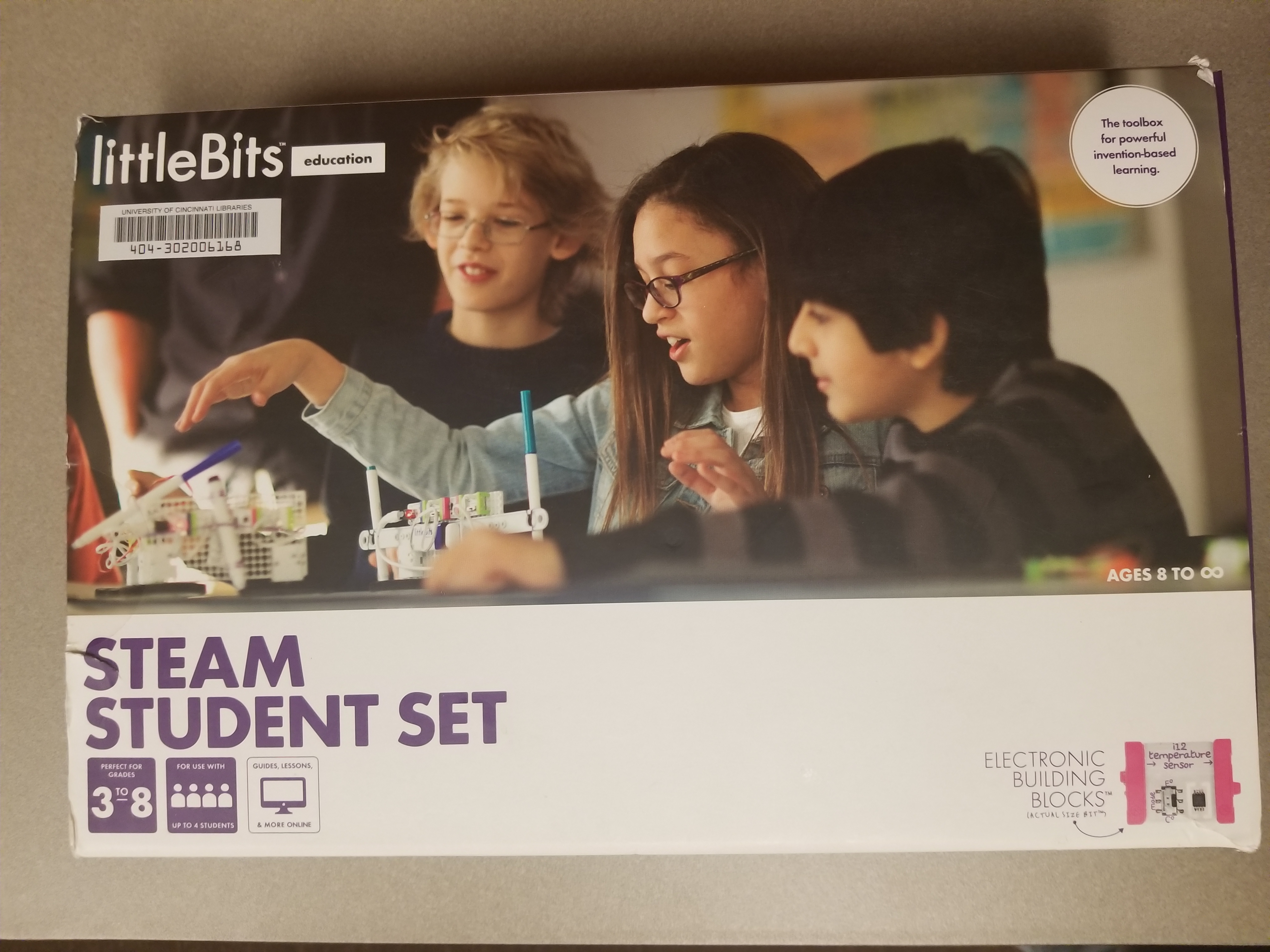 Picture of Steam Student Set