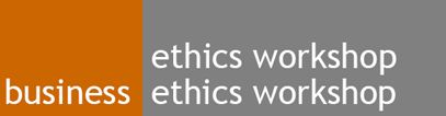 Business ethics workshop