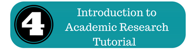 intro to academic research tutorial icon