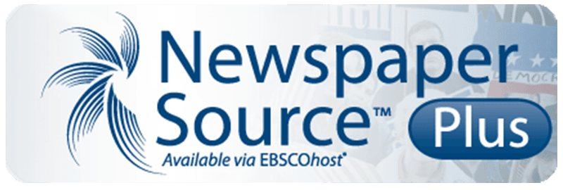 Newspapers Source Plus Logo Button