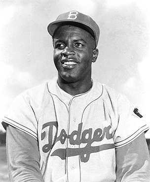 Photograph of Jackie Robinson