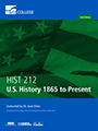 U.S. History 1865 to Present book cover