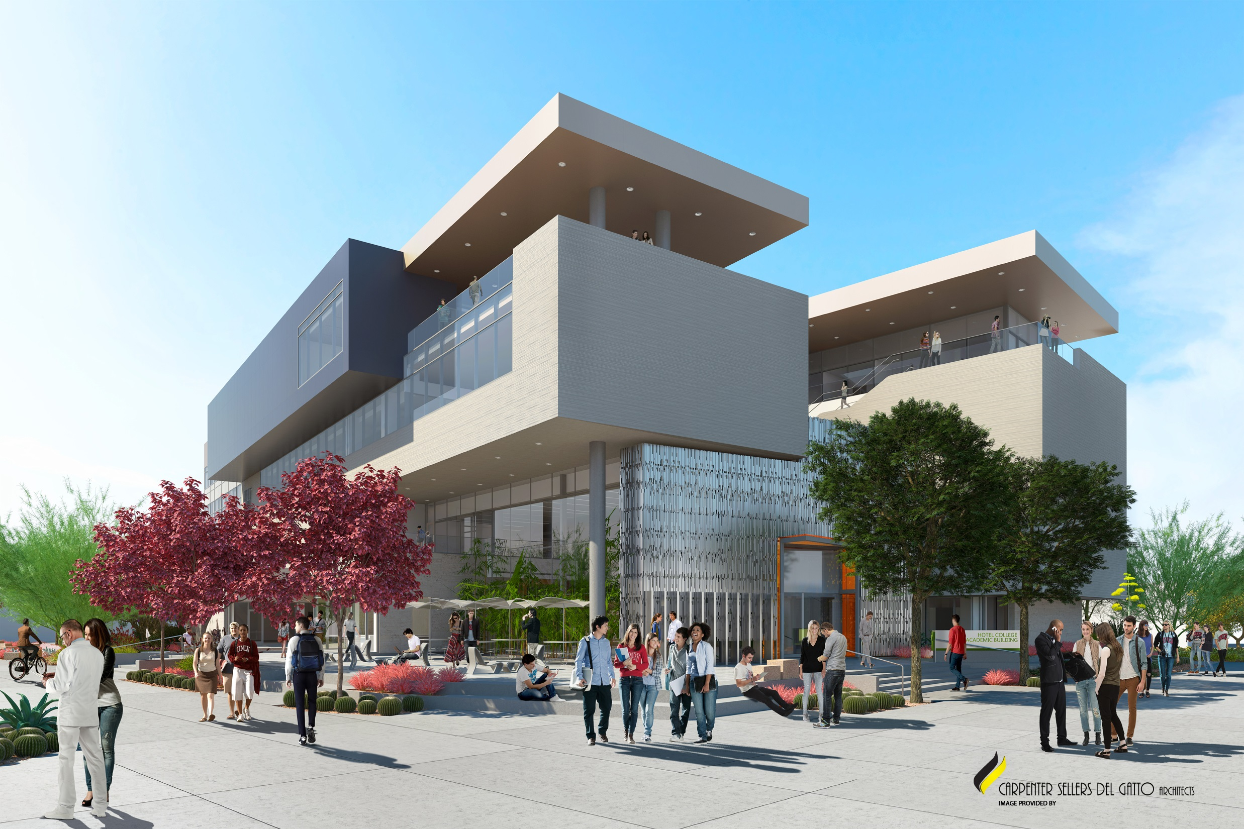 Hospitality Hall Rendering - Exterior