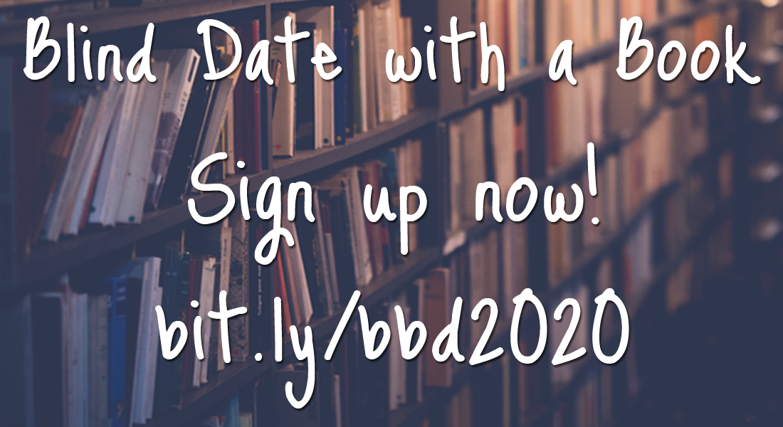 sign up now for blind date with a book