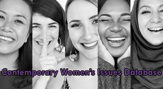 contemporary women's issues database
