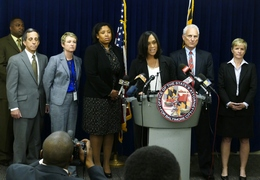News conference in Baltimore
