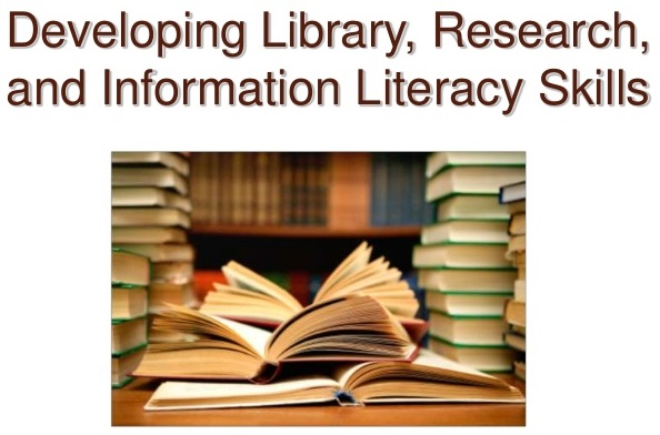 developing library, research, and info literacy skills
