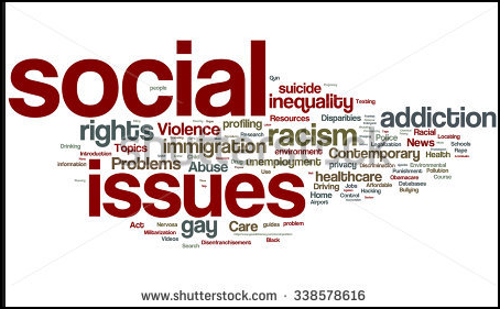 Social Issues Word Cloud