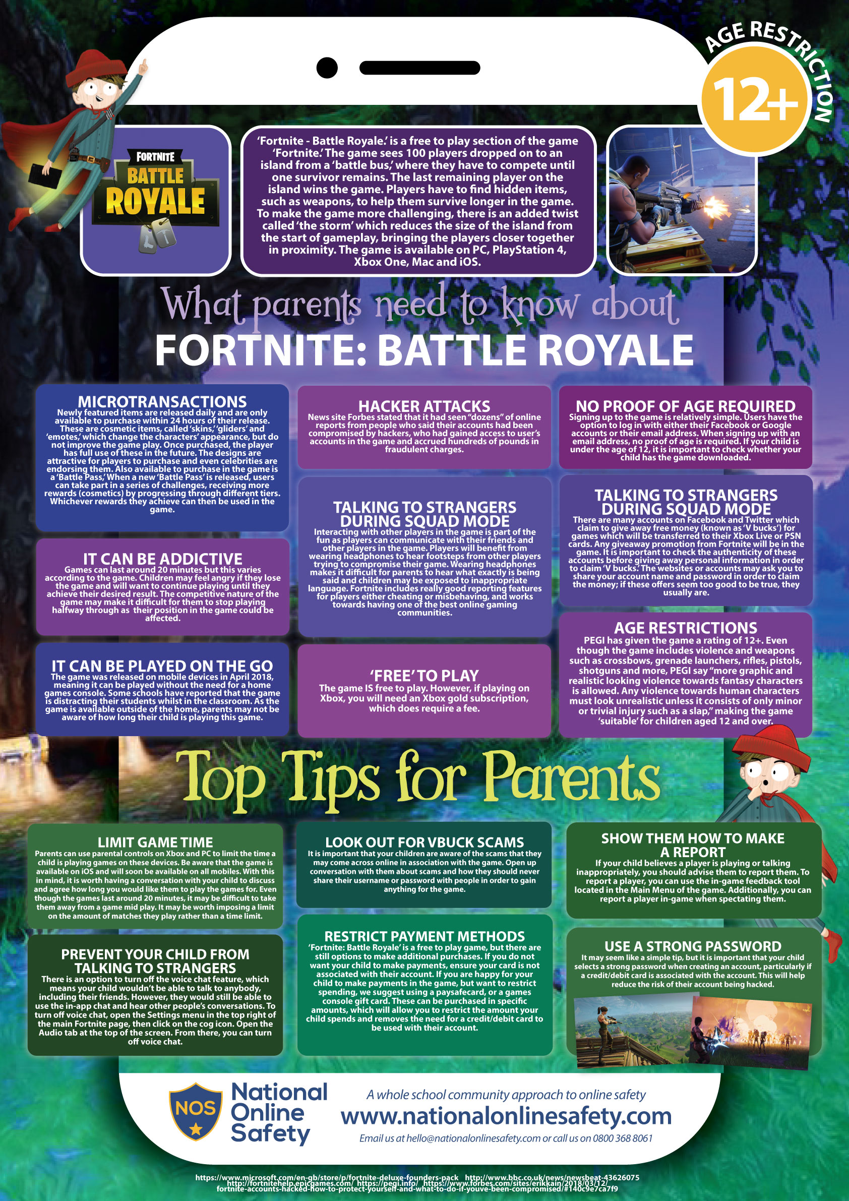 Fortnite Safety from National Online Safety Alliance
