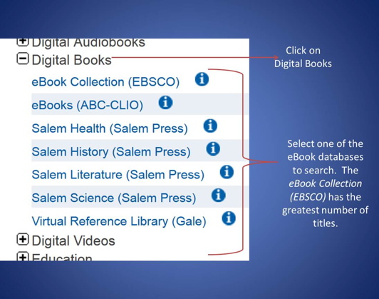 eBook Collection EBSCO