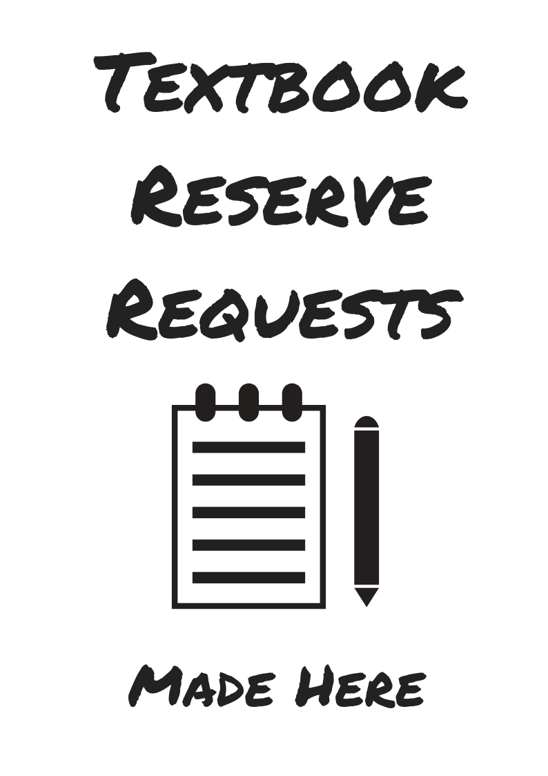 Textbook Reserve Requests