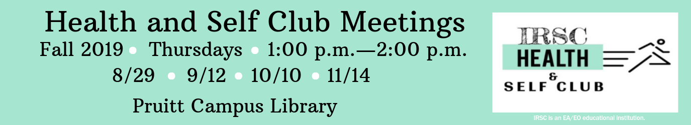 Health and Self Club Meetings