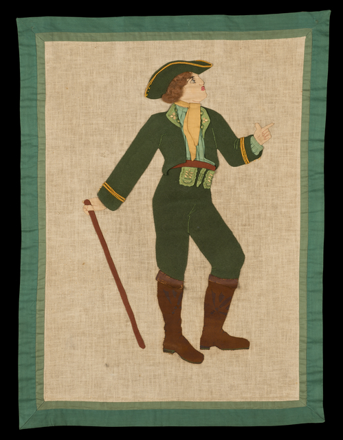 """Bavarian Man"" wall hanging"