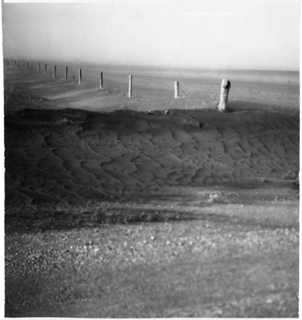 Dust bowl scene, Swift County