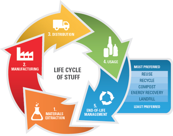 The Life cycle chart