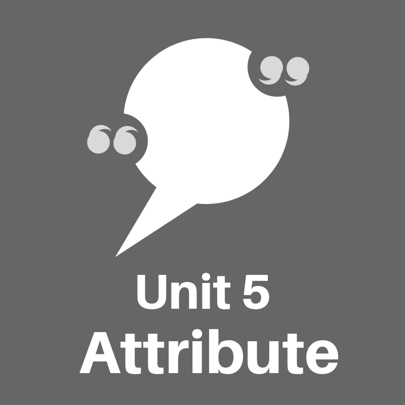 Click here to access Unit 5 of tutorial