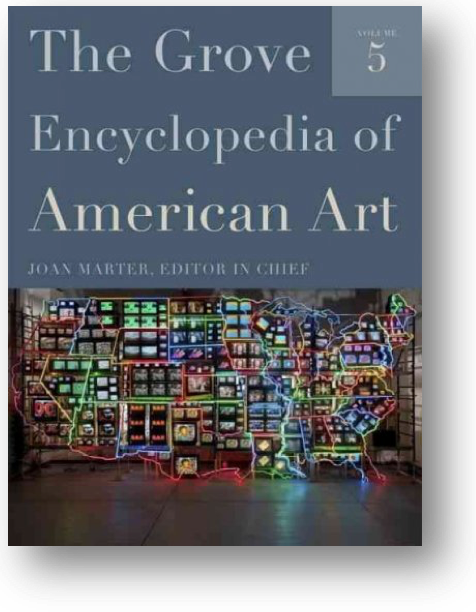 Book cover - Grove Encyclopedia of American Art