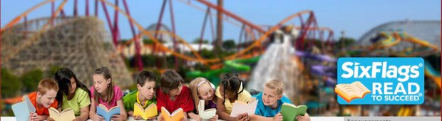Six Flags Read to Succeed Banner