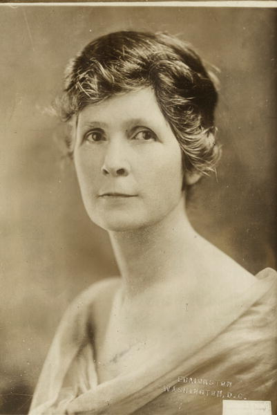 Mrs. Ella M. Dean of Montana is the official hostess of the Congressional Union for Woman Suffrage at its new home, the Cameron House, Washington, D.C. Mrs. Dean also rendered valuable services
