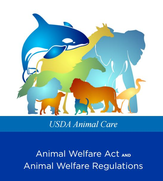 Cover  for Animal welfare, shows animals in silhouette