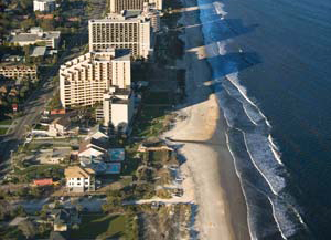 image of Myrtle Beach's coast