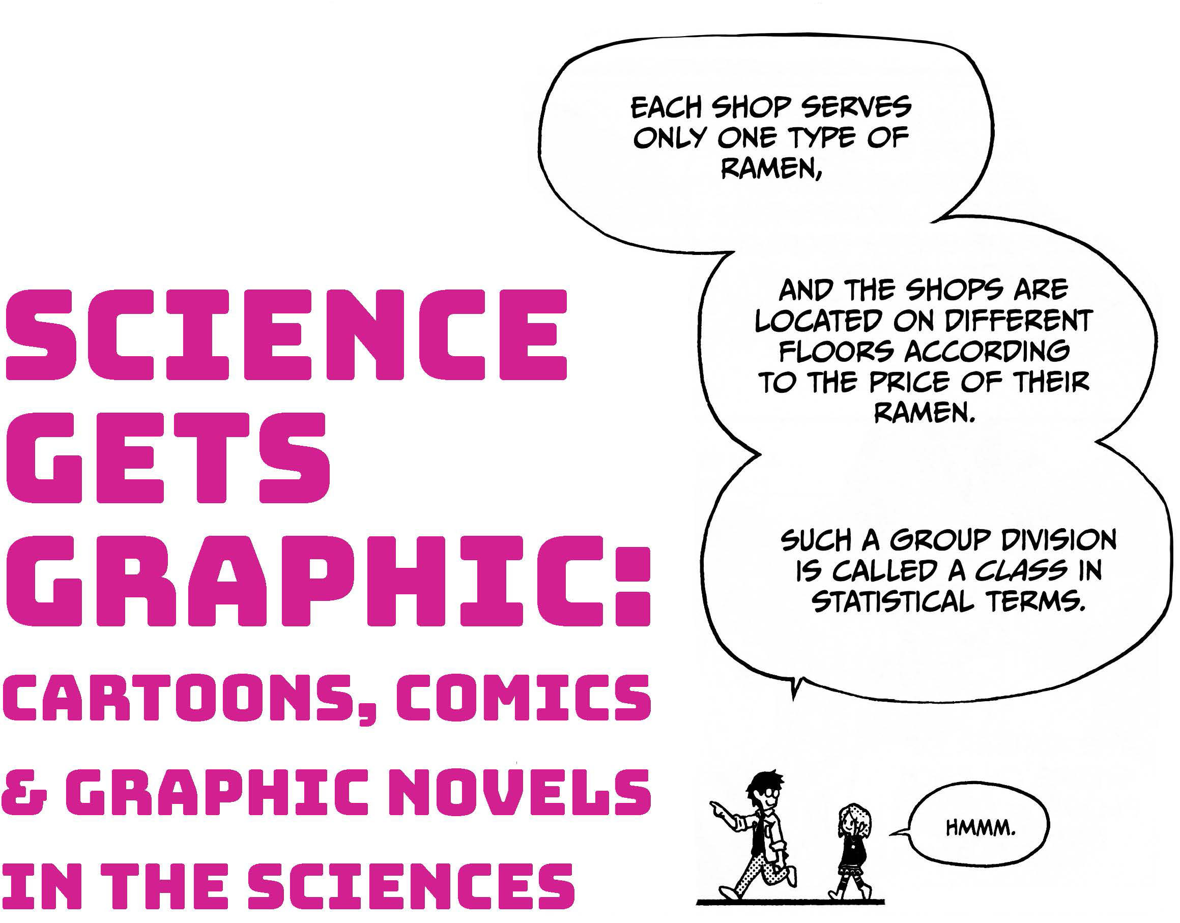 Poster for Science Gets Graphic exhibit