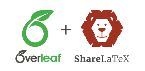 Overleaf + ShareLaTeX logo350