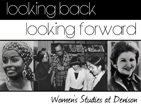 logo for looking back looking forward collection