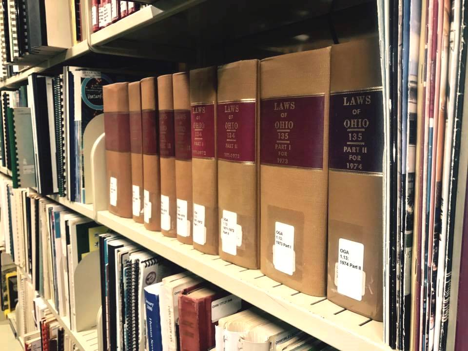 Visit Carlson Library's collection of retro Ohio documents