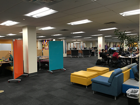 an image of the learning commons