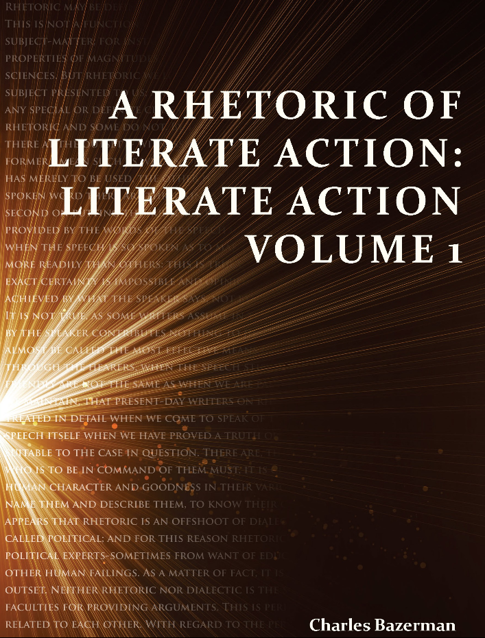A Rhetoric of Literate Action textbook