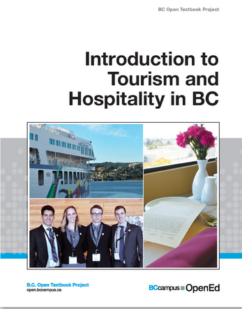 Introduction to Tourism and Hospitality in BC textbook
