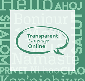 Learn new languages with Transparent Language