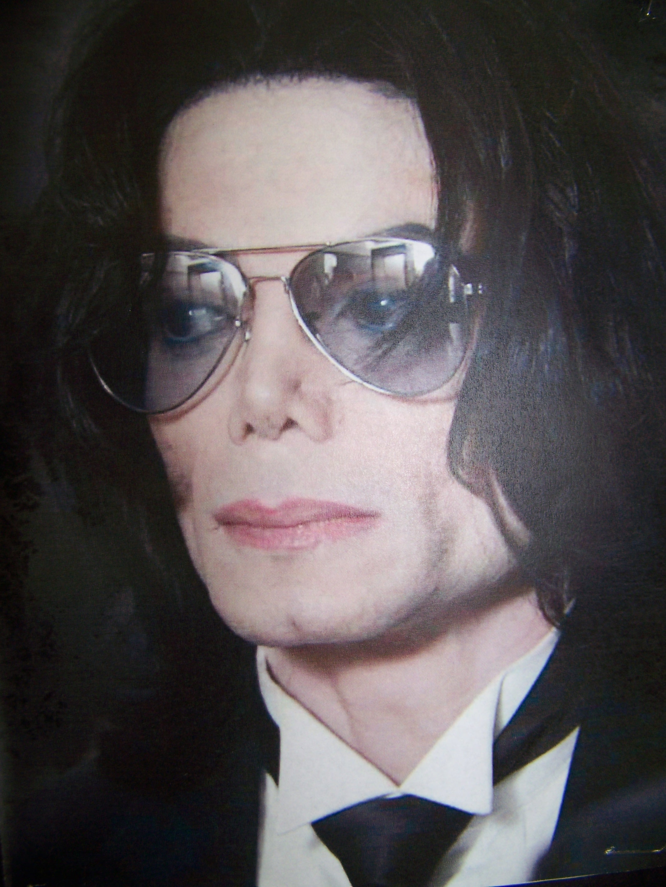Michael Jackson photo later in life