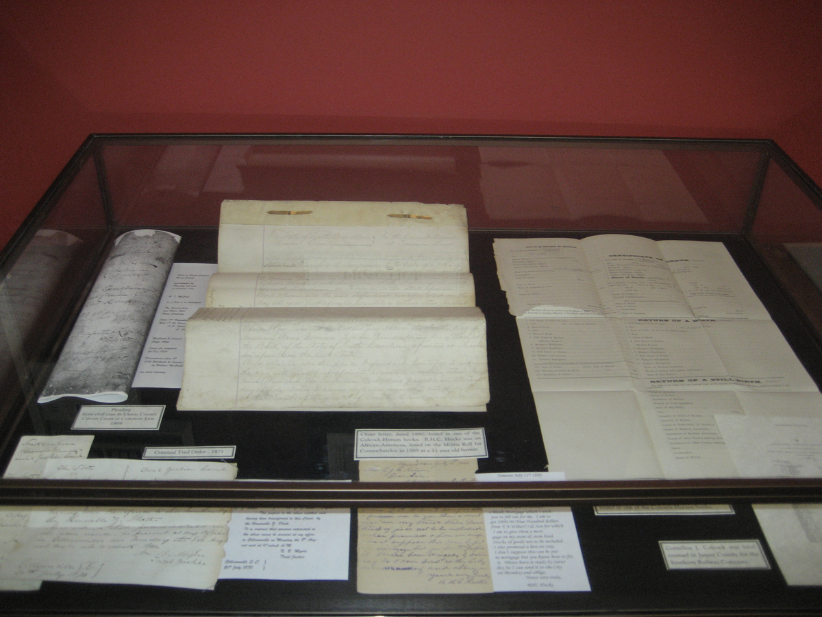 19th Century Legal Documents