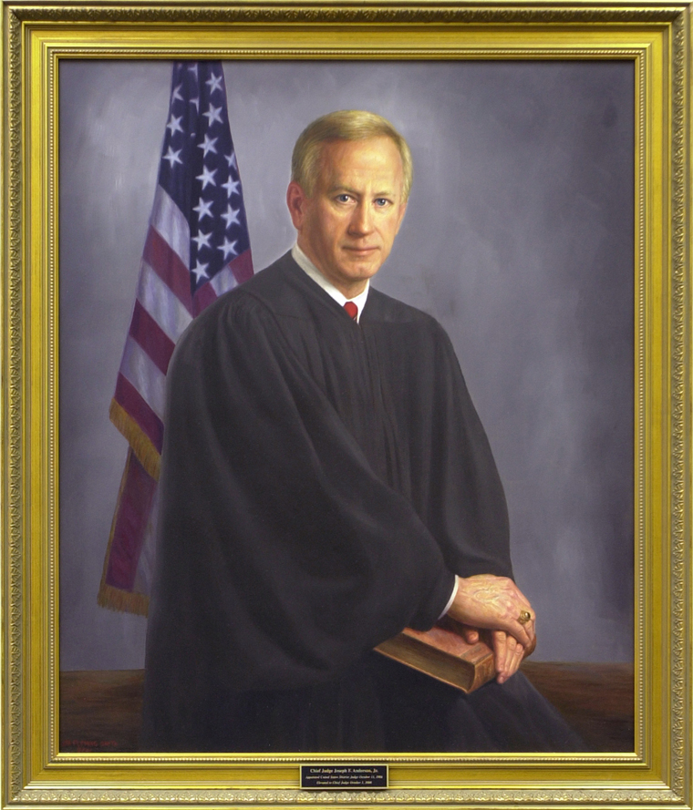 The Honorable Joseph Fletcher Anderson, Jr. (1949–)