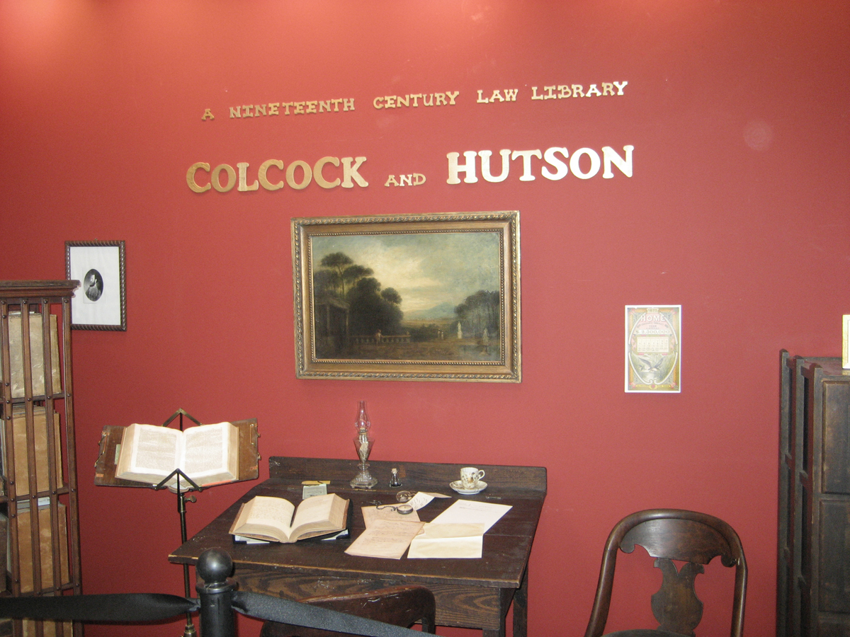 A Replica of a 19th Century Law Office
