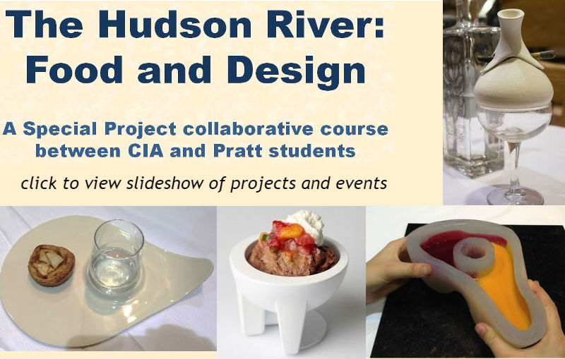 The Hudson River: Food and Design