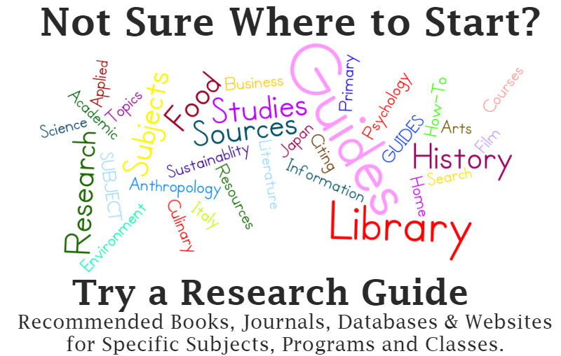 Try Research Guides