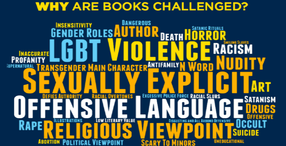 ALA Why are Books Challenged?